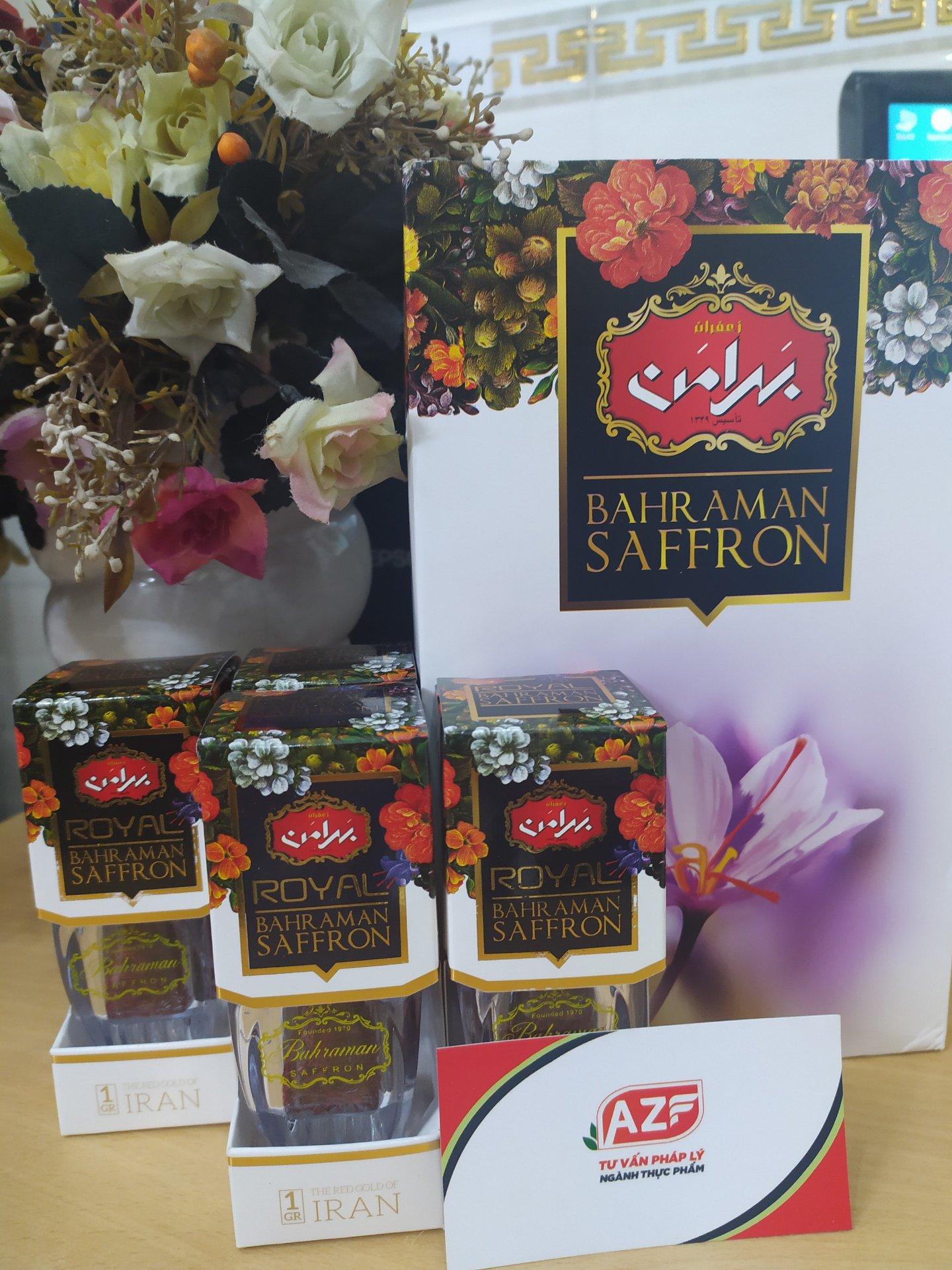 Tự Công Bố Nhụy hoa nghệ tây (Saffron) - 093 111 9336